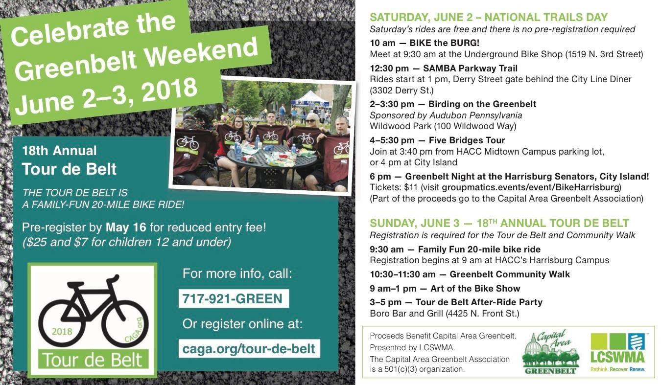 Greenbelt Weekend poster